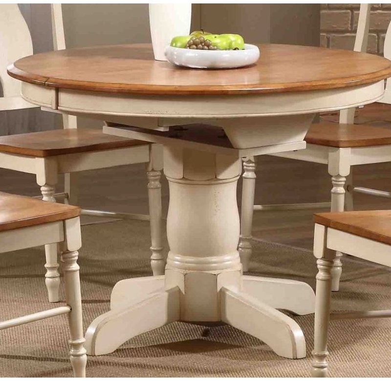 Iconic Furniture Extendable Dining Table & Reviews | Wayfair With Regard To Valencia 5 Piece 60 Inch Round Dining Sets (View 11 of 25)