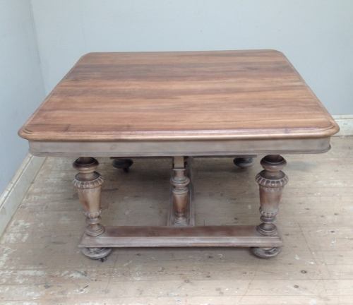 Id3754 French Antique Extending Dining Table Regarding French Extending Dining Tables (View 12 of 25)
