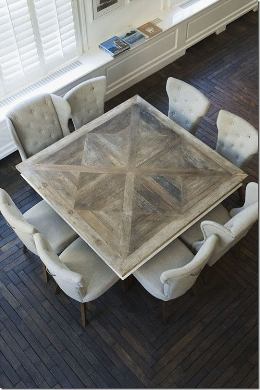 Idea For Doing A Non Traditional Dining Table For The Open Kitchen Throughout Non Wood Dining Tables (Image 7 of 25)