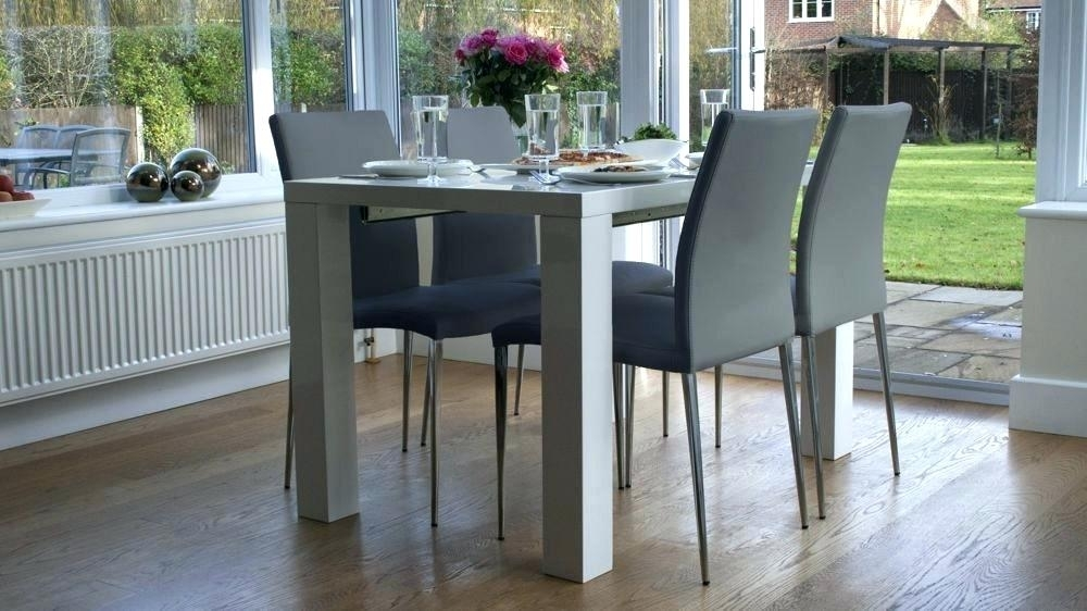 Ikea Dining Table Chairs Dining Table Sets Best White High Gloss Throughout White Extending Dining Tables And Chairs (Image 10 of 25)