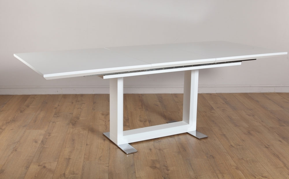 Ikea Extendable Dining Table | Ikea Dining Table Regarding White Extendable Dining Tables (Image 12 of 25)