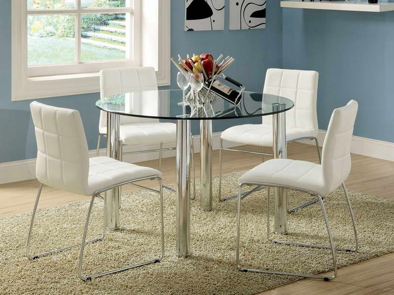 Ikea Glass Dining Table Usa Ikea Dining Table And Chairs Kobe Great Pertaining To Ikea Round Dining Tables Set (Image 13 of 25)