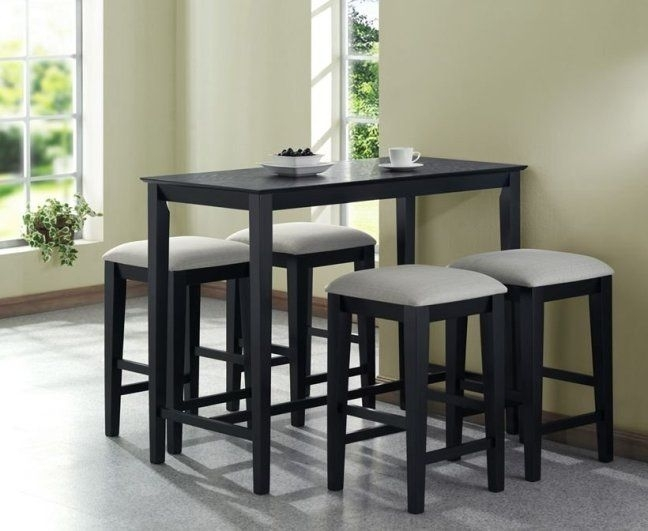 Ikea Kitchen Tables For Small Spaces | High Top Tables In 2018 In Small Dining Sets (Image 10 of 25)