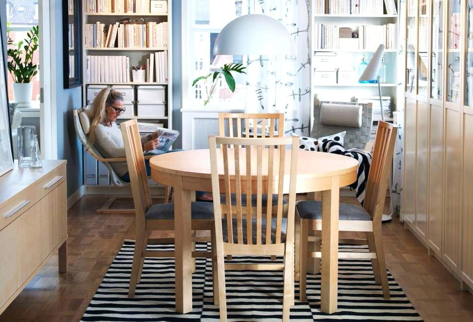 Ikea Round Dining Table Set Dining Room Tables And Chairs A Dining Inside Ikea Round Dining Tables Set (Image 15 of 25)