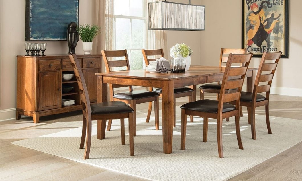 Image 11203 From Post: Casual Dining Room Furniture – With 7 Piece Intended For Cora 7 Piece Dining Sets (View 10 of 25)