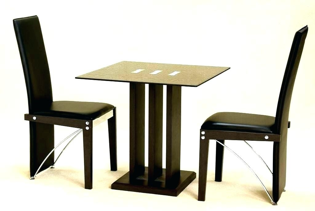 Image Of 2 Person Kitchen Table And Chairs Small Kitchen Round in Two Person Dining Tables