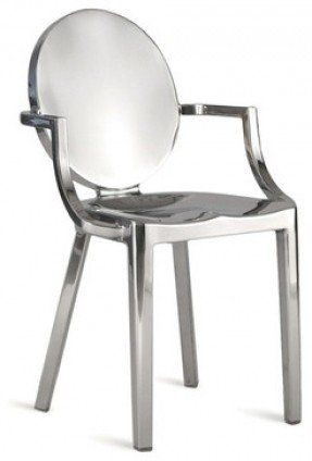 Image Result For Polished Chrome Dining Chair | Dining Table And Intended For Chrome Dining Chairs (View 15 of 25)