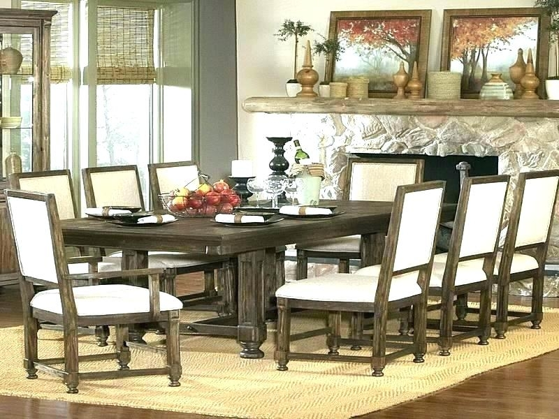 Imágenes De 9 Piece Dining Room Sets Cheap Intended For Chapleau Ii 9 Piece Extension Dining Tables With Side Chairs (View 19 of 25)