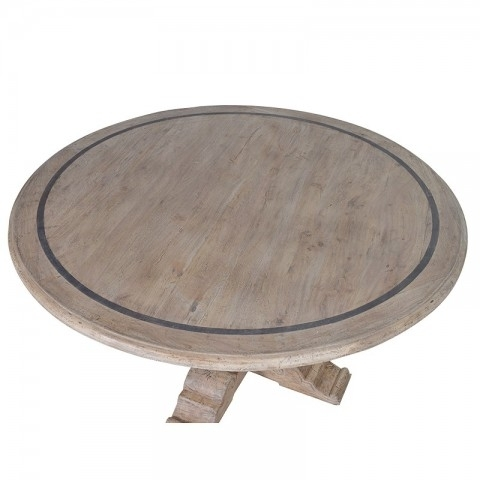 Imperial Grey Wash Round Dining Table | Dining Room Tables Pertaining To Imperial Dining Tables (View 25 of 25)