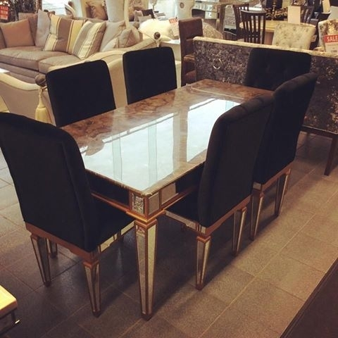 Imperial Marble Table And 6 Chairs – Home Living With Imperial Dining Tables (View 10 of 25)