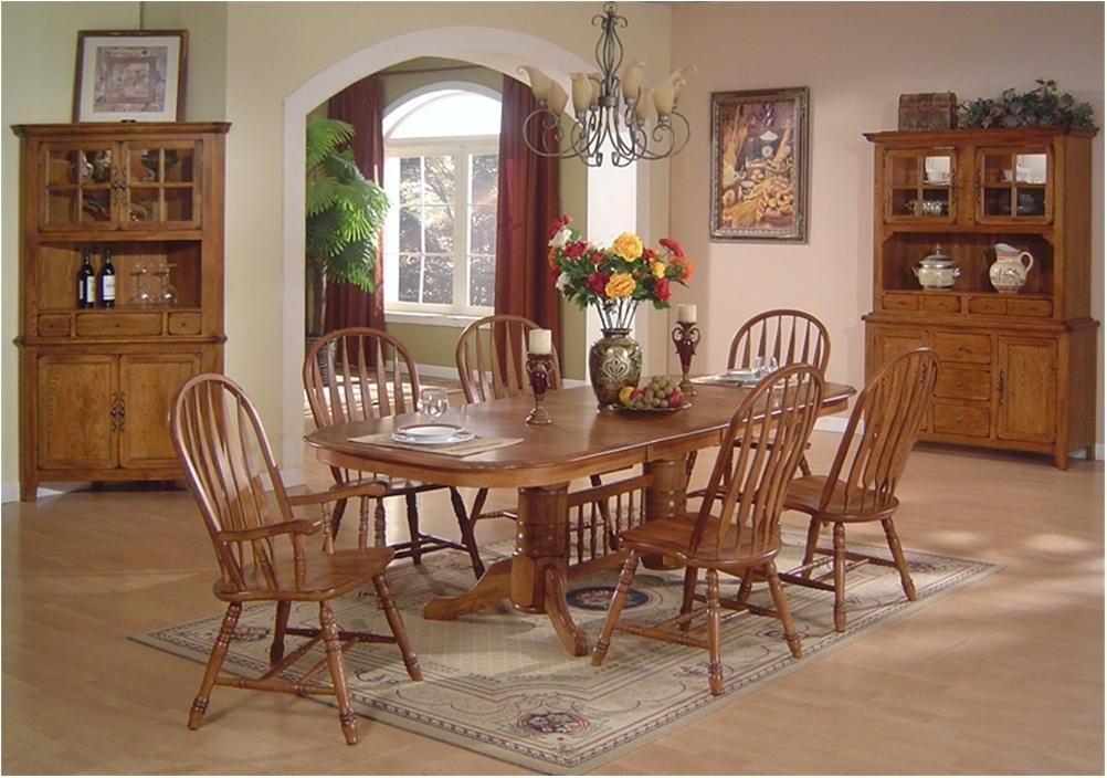 Incredible Decorative Oak Dining Table Set 16 Kitchen And Chairs Regarding Oak Furniture Dining Sets (View 25 of 25)