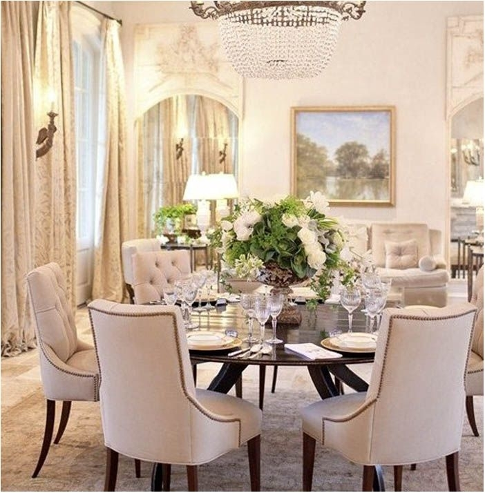 Incredible Large Round Dining Table With Leaves Round Table Pertaining To Large Circular Dining Tables (Image 13 of 25)