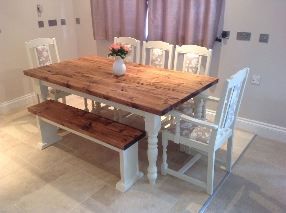 Incredible Shabby Chic Dining Table Set Best Ideas About Shab Chic Regarding Shabby Chic Dining Sets (View 24 of 25)
