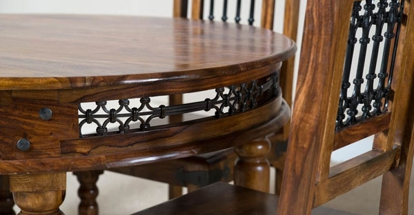 Indian Furniture: Indian Sheesham & Mango Wood Furniture Sale Throughout Indian Dining Tables And Chairs (View 6 of 25)