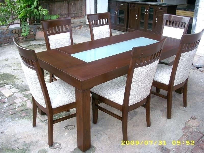 Indian Wood Dining Table Dining Room Furniture Dining Table Wooden pertaining to Indian Dining Tables