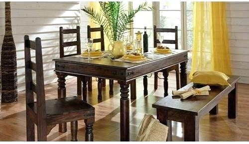 Indian Wood Dining Table Dining Room Furniture Dining Table Wooden With Indian Dining Tables And Chairs (Image 16 of 25)