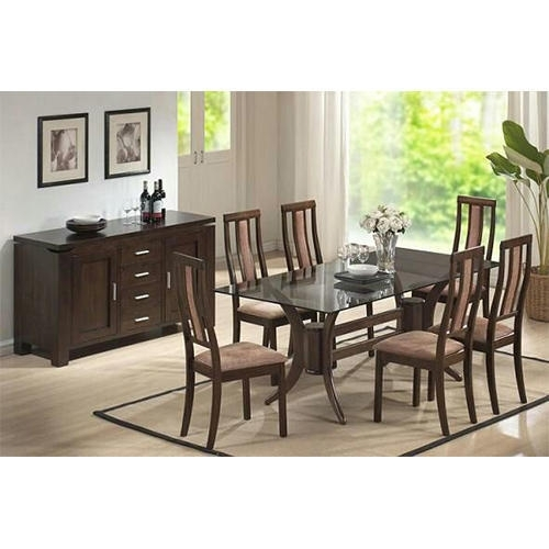 Indian Wooden Dining Table Chairs At Rs 95000 /set | Wooden Dining With Regard To Indian Wood Dining Tables (View 8 of 25)