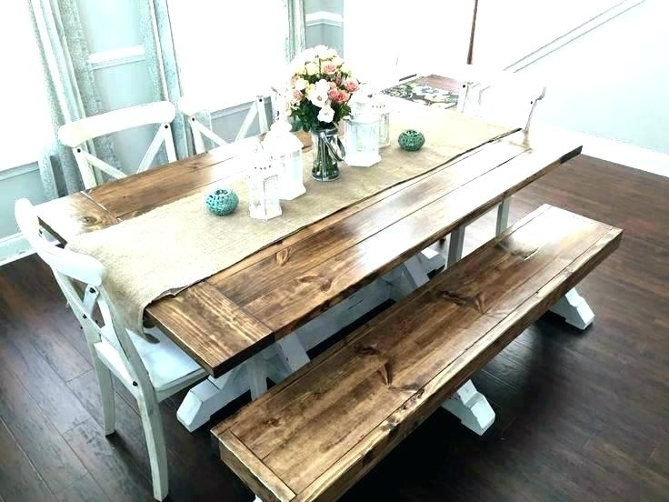 Indoor Picnic Table Indoor Picnic Table Dining Plain Ideas Style For Indoor Picnic Style Dining Tables (View 17 of 25)