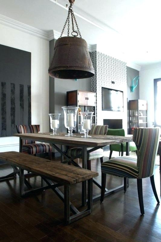 Industrial Style Dining Table Industrial Style Dining Table Inside Industrial Style Dining Tables (Image 15 of 25)