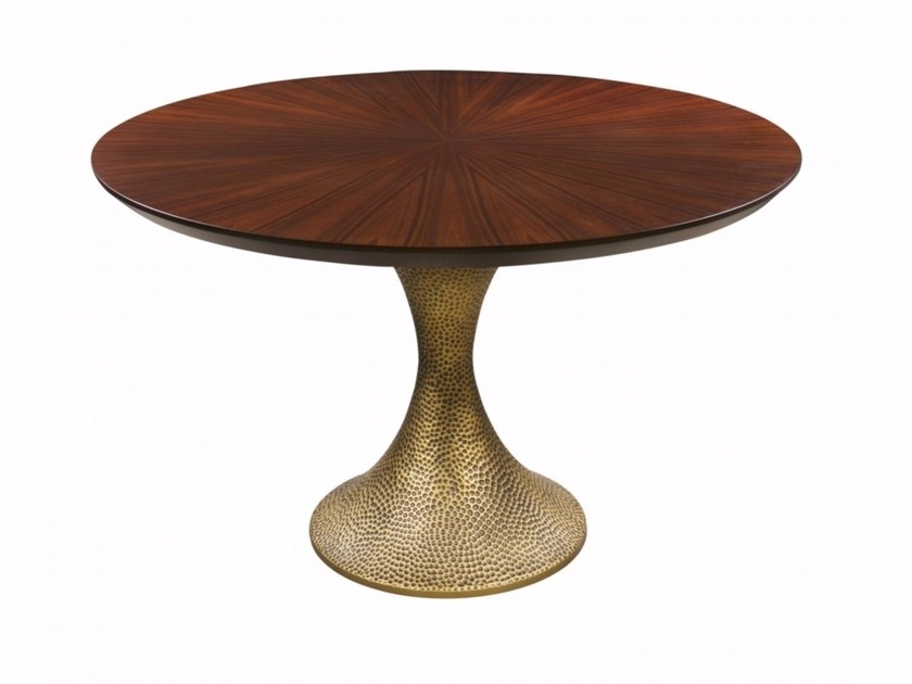 Inès Hammered Dininghamilton Conte Paris With Hamilton Dining Tables (Image 19 of 25)