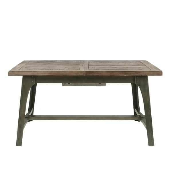Ink Ivy Oliver Grey Extension Dining Table | Ideas For The House Intended For Jaxon Grey Rectangle Extension Dining Tables (Image 12 of 25)
