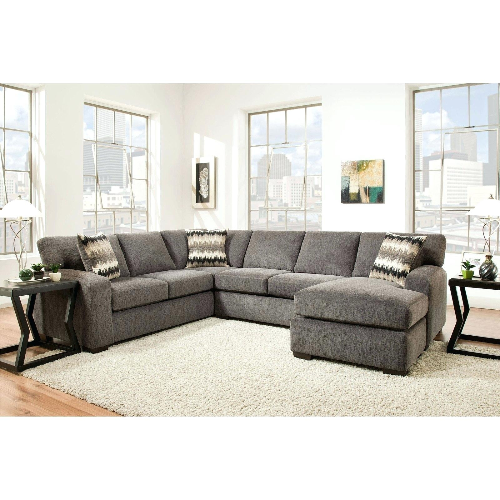 Inspirational Pictures Of Sectional Couches For Denali Light Grey 6 Inside Denali Light Grey 6 Piece Reclining Sectionals With 2 Power Headrests (View 18 of 25)