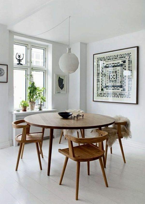 Inspirierende Holztische Lassen Die Wohnung Naturnah Aussehen within Lassen Round Dining Tables