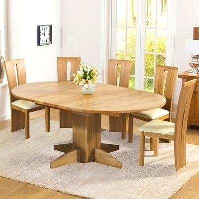 Inspiring Extending Solid Oak Dining Table Monty Solid Oak Extending Throughout Round Oak Extendable Dining Tables And Chairs (Image 16 of 25)