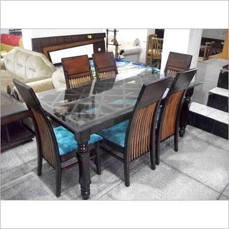 Inspiring Seater Dining Table Size India Home Fascinating Dining Intended For Indian Dining Tables (Image 20 of 25)