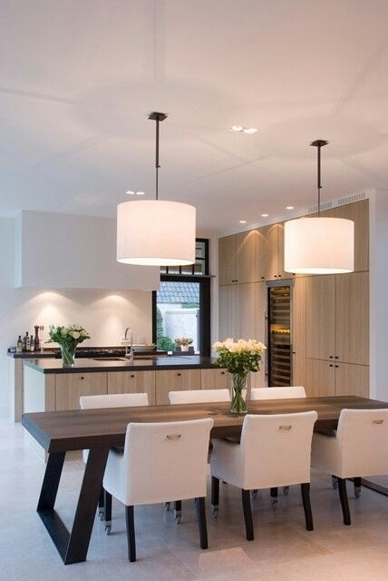 Interior Designer Shares Her Best Advice For Designing A Modern With Over Dining Tables Lighting (Image 16 of 25)