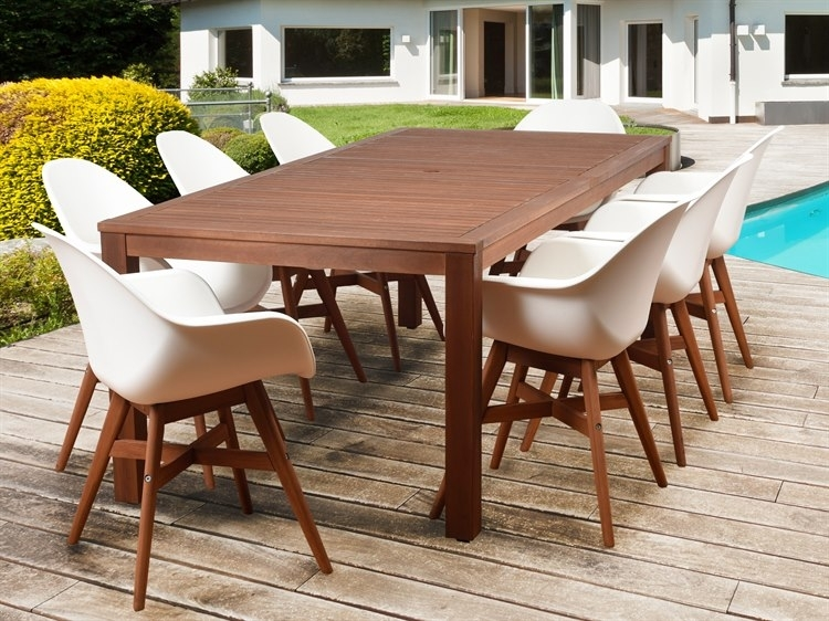 International Home Miami Amazonia Charlotte Deluxe 9 Piece Throughout Caira 9 Piece Extension Dining Sets (View 23 of 25)