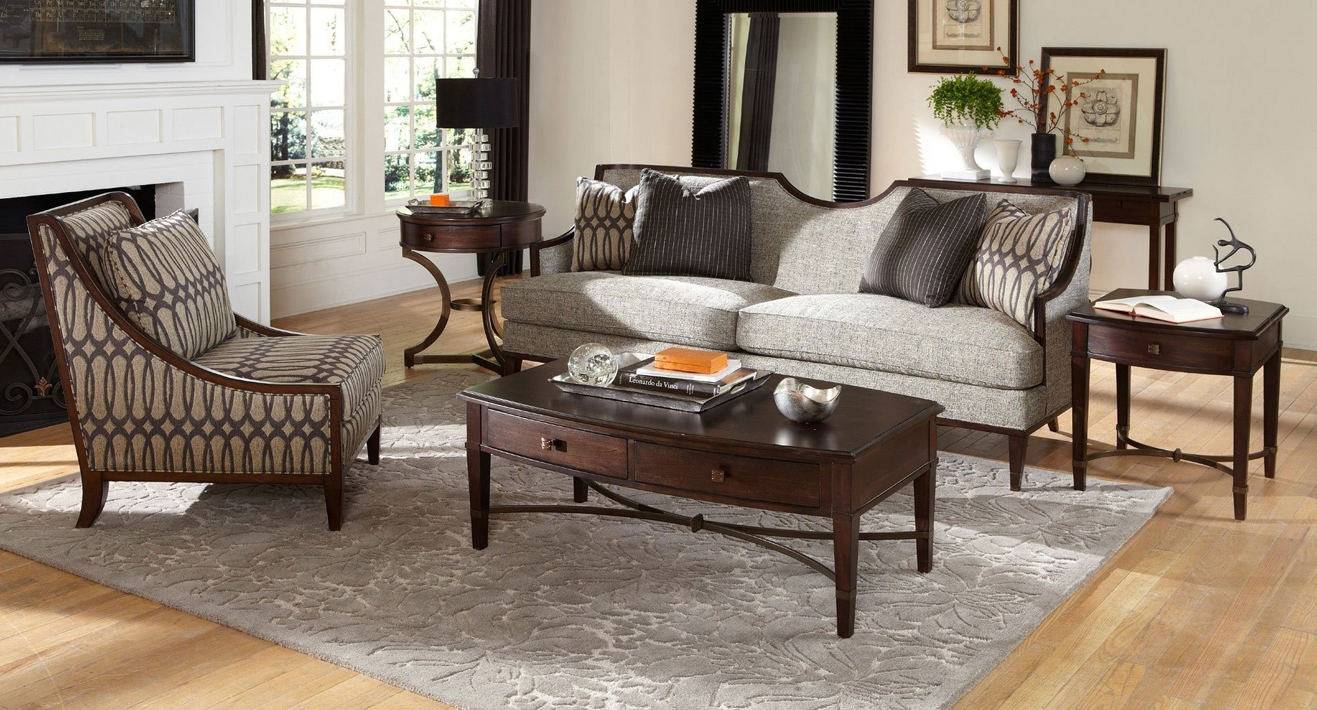 Intrigue Harper Mineral Living Room Set Art Furniture | Furniture Cart Intended For Harper Down 3 Piece Sectionals (Image 13 of 25)