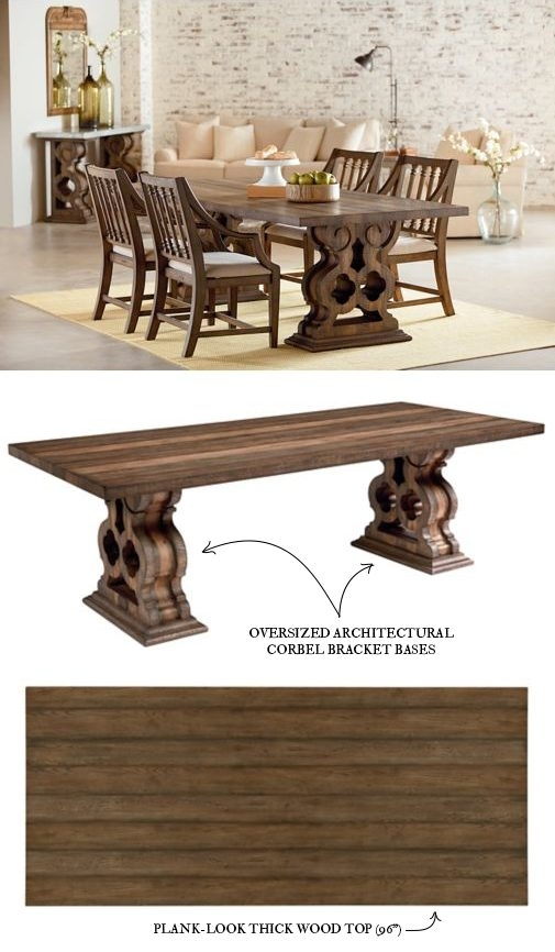 Introducing Magnolia Home Furniture – Part 3 With Regard To Magnolia Home Double Pedestal Dining Tables (View 3 of 25)