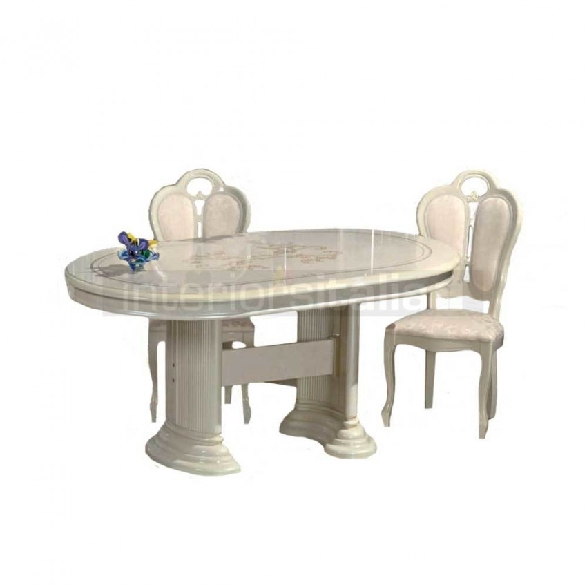 Italian Dining Set | Extendable | Florence | On Sale Inside Florence Dining Tables (Image 19 of 25)