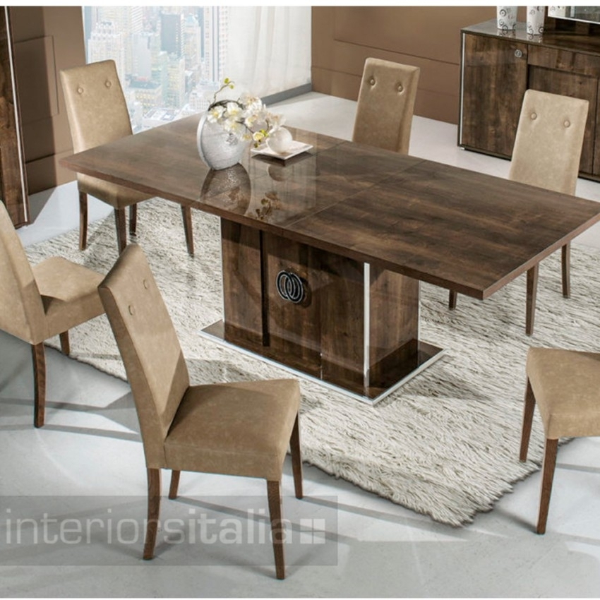 Italian Dining Tables | Athen | On Sale Pertaining To Italian Dining Tables (Image 14 of 25)