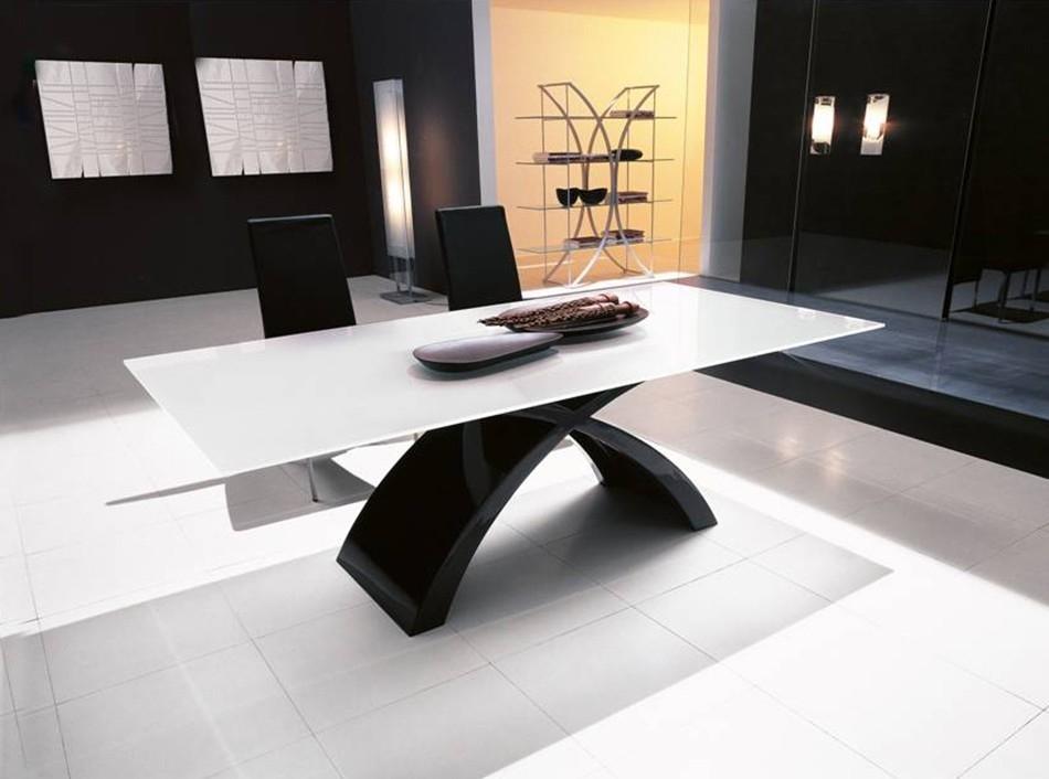 Italian Glass Dining Table Tokyotonin Casa Regarding Tokyo Dining Tables (View 5 of 25)