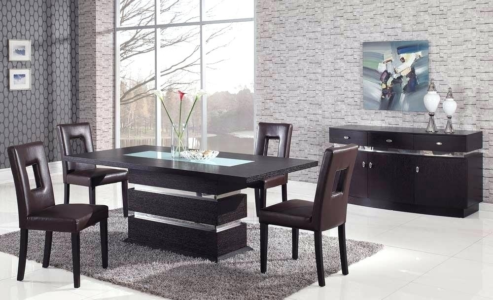 Italian Modern Dining Table High End Tables Elegant Room Sets For Within Contemporary Dining Tables Sets (Image 18 of 25)