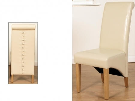 Ivory Dining Chair | Dining Room Furniture Northern Ireland With Regard To Rocco Extension Dining Tables (Image 14 of 25)