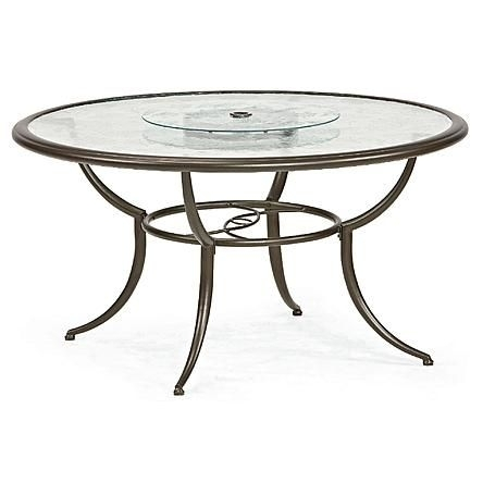 Jaclyn Smith Cora Dining Table With Lazy Susan 2 | Outdoor With Cora Dining Tables (View 22 of 25)