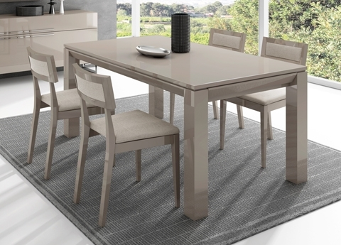 Jantar Extending Dining Table - Contemporary Extending Dining Tables with Contemporary Extending Dining Tables