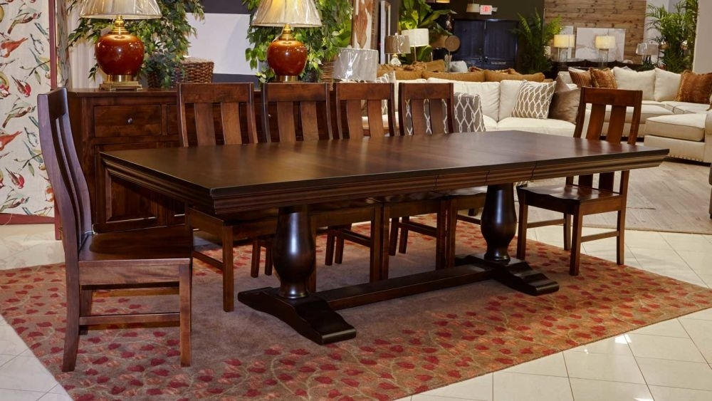 Java Dining Table With Jersey Village Chairs With Java Dining Tables (Photo 5 of 25)