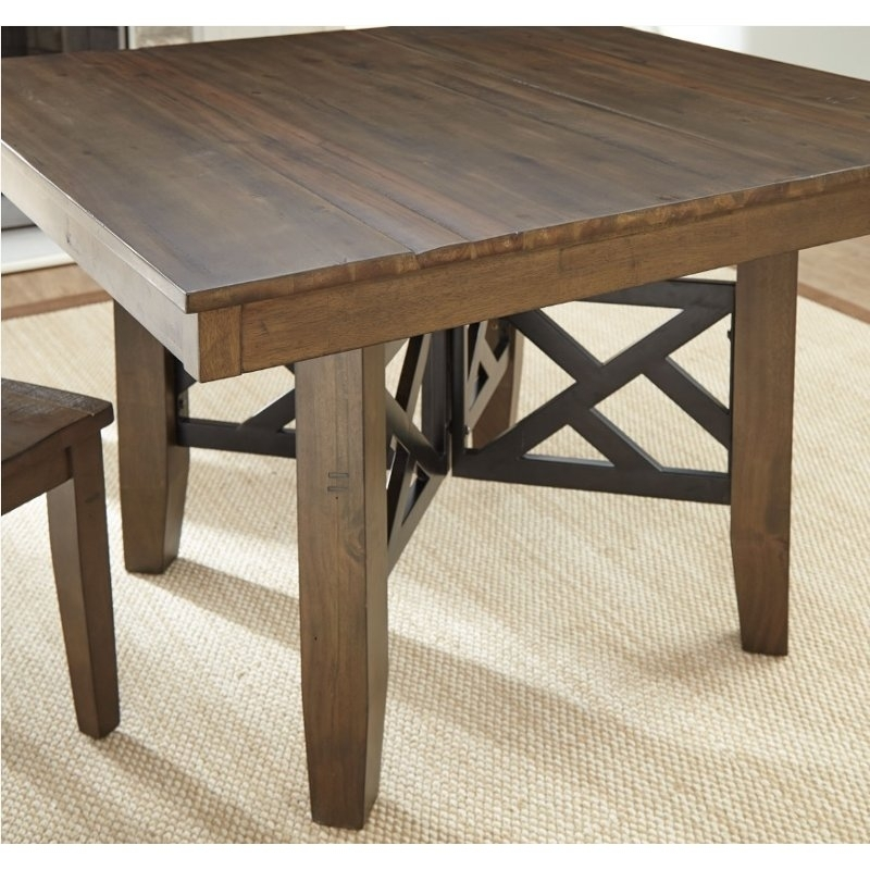 Java Square Dining Table – Mayla | Rc Willey Furniture Store Throughout Java Dining Tables (Photo 9 of 25)