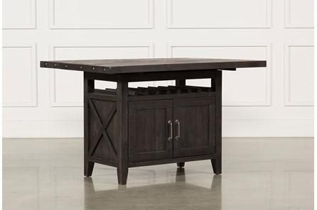 Jaxon Extension Counter Table | Decor | Pinterest With Jaxon Grey Rectangle Extension Dining Tables (View 7 of 25)