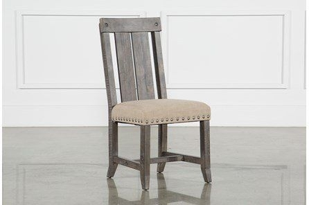 Jaxon Grey Upholstered Side Chair | Pinterest | Side Chair, Pine Pertaining To Jaxon Grey 6 Piece Rectangle Extension Dining Sets With Bench & Wood Chairs (Image 13 of 25)