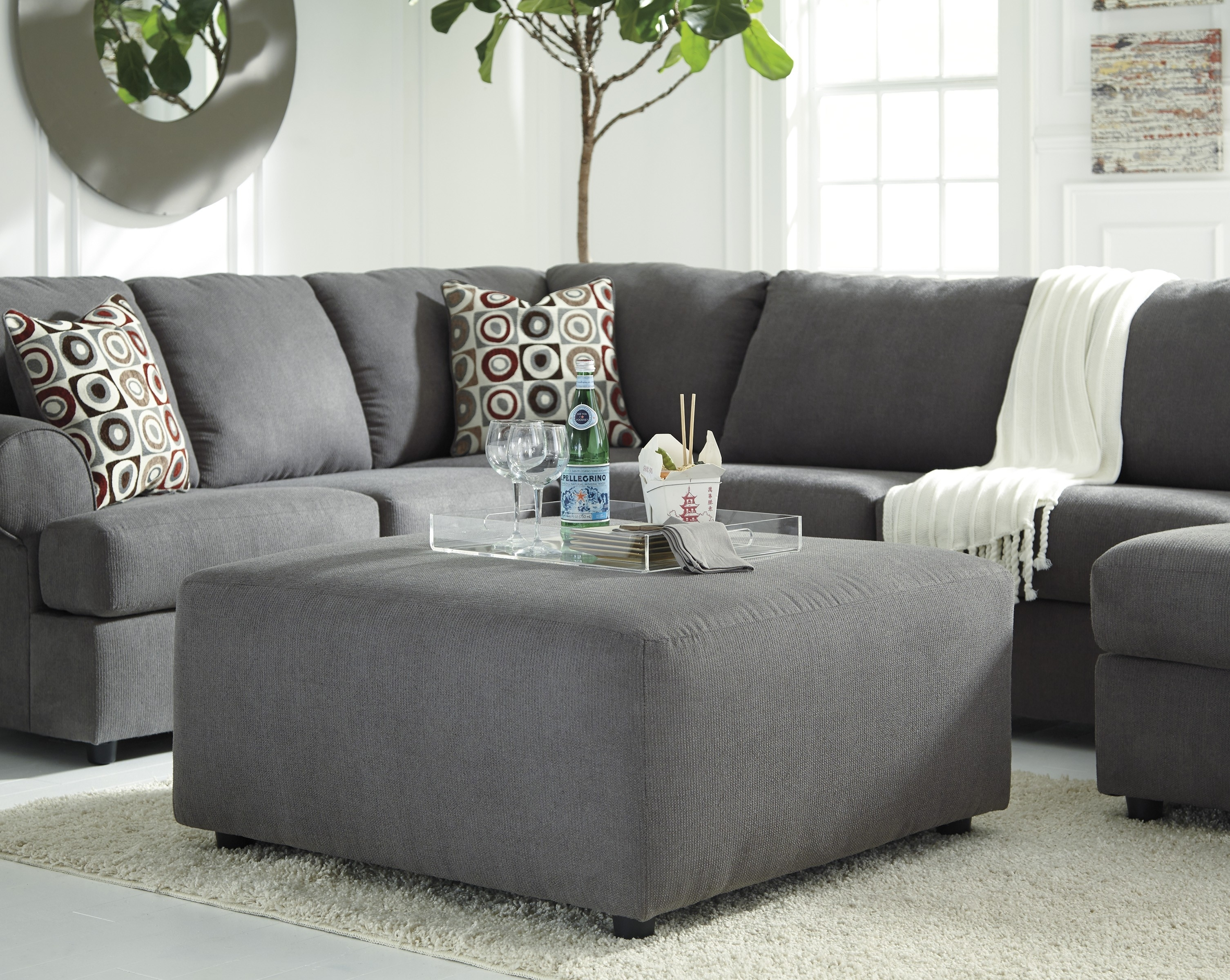 Jayceon Steel 3Pc Laf Sofa Sectional | Catosfera Throughout Malbry Point 3 Piece Sectionals With Laf Chaise (View 21 of 25)