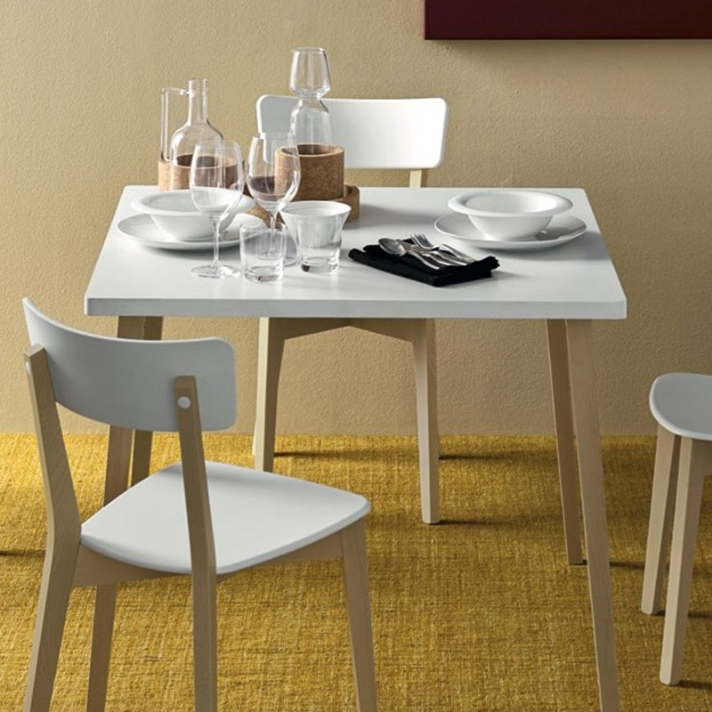 Jelly Tableconnubia Calligaris Within White Melamine Dining Tables (Image 14 of 25)