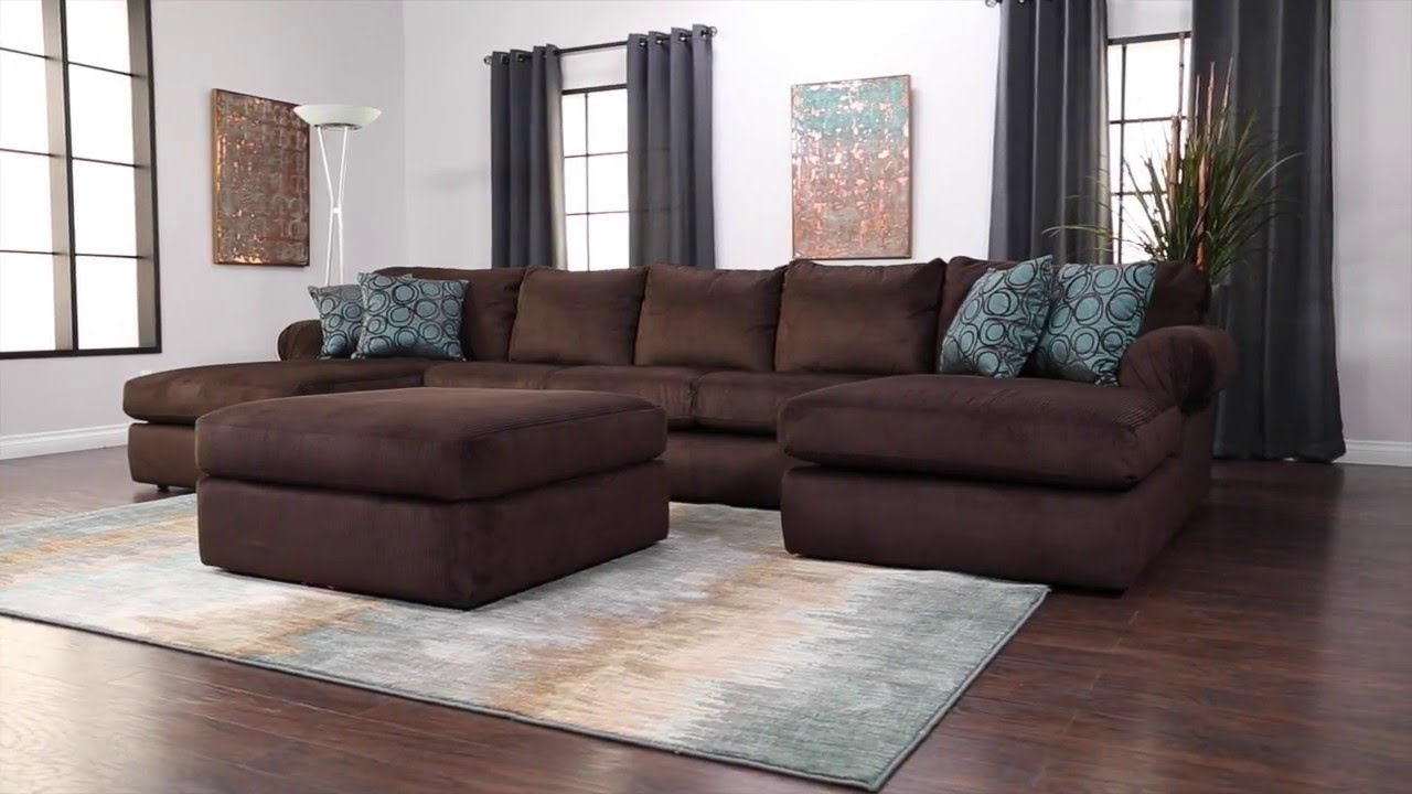 Jerome's Furniture Scottsdale Sectional – Youtube Throughout Collins Sofa Sectionals With Reversible Chaise (View 22 of 25)