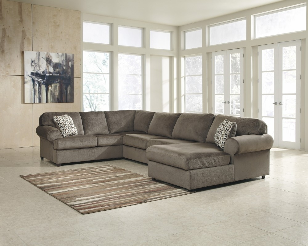 Jessa Place - Dune 3 Pc. Raf Chaise Sectional | 39802/17/34/66 with regard to Lucy Grey 2 Piece Sectionals With Laf Chaise