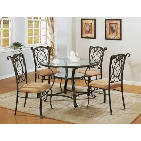 "Jessica"" Collection 5 Piece Dining Set 