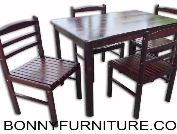 Jit Travis / Jit Gavin (4 Seater / 6 Seater) Dining Set – Bonny Inside Gavin Dining Tables (Photo 21 of 25)